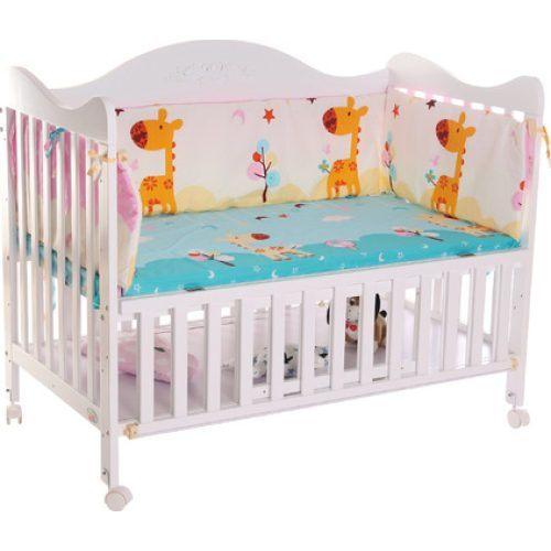 Tour De Lit Turquoise Magnifique Купить детские кроватки дРя новорожденных со скидкой на АРиЭкспресс