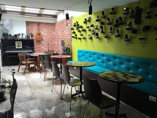 Tour De Lit Turquoise Nouveau Cafe La Vieja Escuela Manizales Restaurant Reviews Phone Number