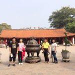 Tour De Lit Uni Belle Temple Of Literature First University Of Vietnam Hanoi City Tour
