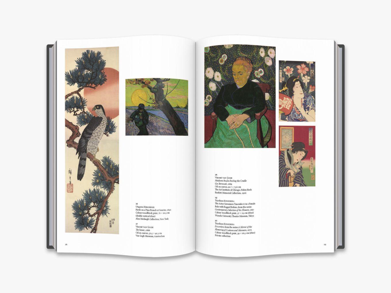 Tour De Lit Uni Frais Japanese Prints the Collection Of Vincent Van Gogh