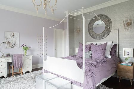 Tour De Lit Violet Élégant Purple Bedrooms Tips and Decorating Ideas