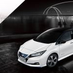 Verin Lit Coffre Bloqué Charmant Nissan Leaf – Véhicule électrique Berline Familiale électrique Ve