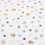 Verin Lit Coffre Bloqué Douce Ξimprimé Coton Bébé Tissu élastique Tricoté Tissu Pour Coudre