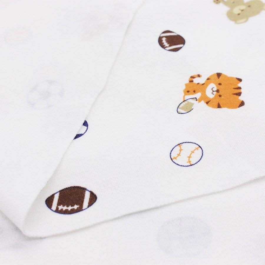Verin Lit Coffre Bloqué Meilleur De Ξimprimé Coton Bébé Tissu élastique Tricoté Tissu Pour Coudre