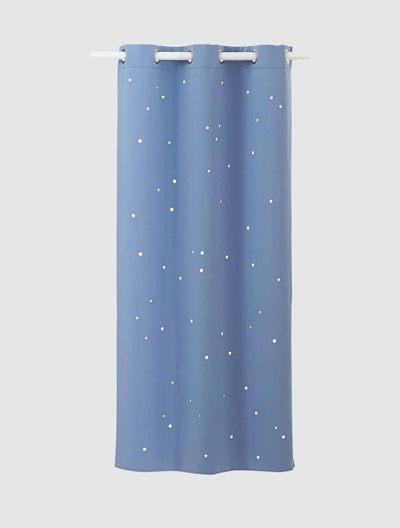 Vertbaudet Linge De Lit De Luxe Rideau assombrissant étoiles Gris Deco Chambre