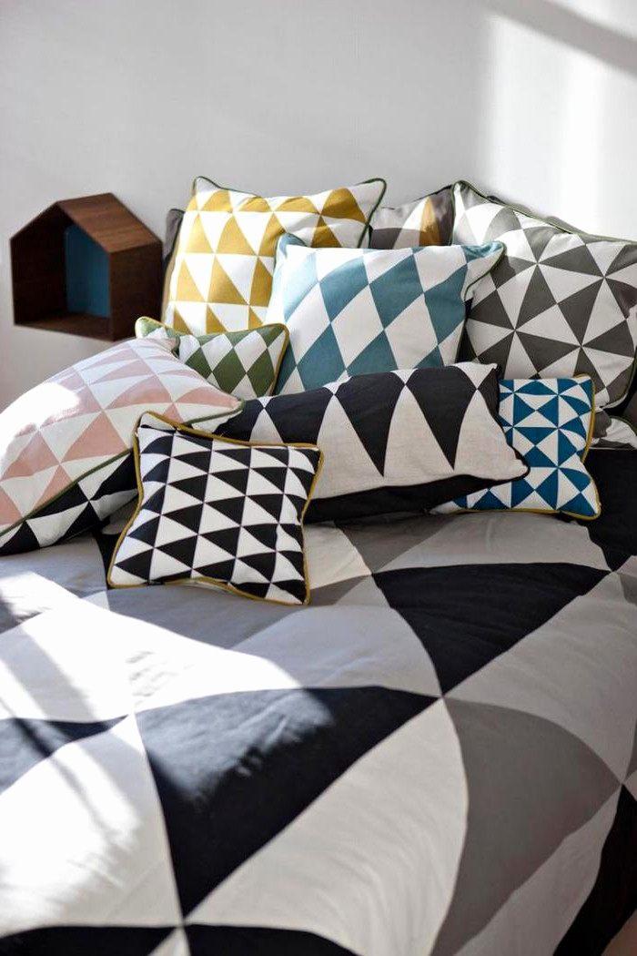 Zodio Linge De Lit Génial Couette Imprimée Ikea Beau Linge De Maison Scandinave Finest Free