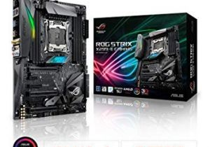 Amazon Lit Bebe Élégant Amazon asus Rog Strix X299 E Gaming Lga2066 Ddr4 M 2 Usb 3 1