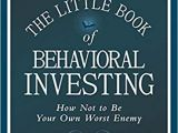 Amazon tour De Lit Agréable the Little Book Of Behavioral Investing How Not to Be Your Own