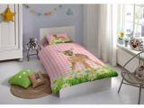 Couette Lit Enfant De Luxe Good Morning Enfant Housse De Couette Set 5967 P Bambi Multi Cotton