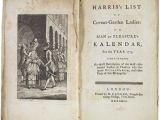 Lit 1 Place Et Demi Unique Harris S List Of Covent Garden La S