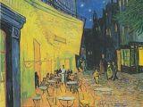 Lit 2 Places Noir Belle Café Terrace at Night