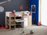 Lit 3 Places Superposé Joli Délicieux Chambre Enfant Lit Superposé  Lit Superposé Avec Bureau