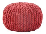 Lit Bebe Rond Bel fort Research Rope Knit Pouf Ottoman & Reviews Wayfair