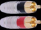 Lit Bébé Transportable Unique Zd01 Premium Rca Pair for 7 5mm and Smaller Audio Cable