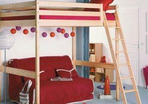 Lit Bureau Mezzanine Élégant 76 Idées De Design Lit Mezzanine Enfant Avec Bureau Meubles