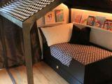 Lit Cabane Bebe Joli Lit Fait Maison Frais Le Plus Beau Lit Cabane Pour Votre Enfant