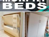 Lit Enfant Escamotable Inspirant Diy Murphy Beds Pinterest