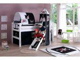 Lit Enfant Pirate Génial Lits Mi Hauts Lit toboggan 90x200cm Design Pirate En Hatre Mob Bebe Avec