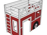 Lit Enfant Pompier Agréable Ana White Fire Truck Loft Bed Diy Projects Diy