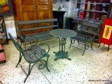 Lit Fer forgé 1 Place Génial Séduisant Salon De Jardin En Fer forgé Sur Chaise En Fer forgé