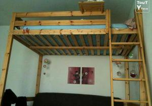 Lit Mezzanine Avec Escalier Agréable Lit Superpose Escalier Avec Rangement Beau Lit Mezzanine 2 Places