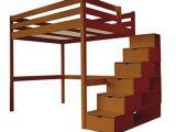 Lit Mezzanine Avec Escalier Bel Abc Meubles Lit Mezzanine Sylvia Avec Escalier Cube Bois Cube
