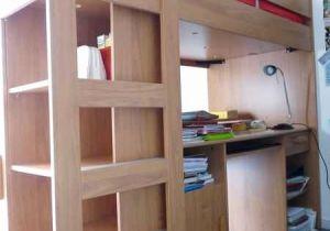 Lit Mezzanine Avec Escalier Frais Lit Mezzanine Rangement Frais Bureau Avec Rangement Unique Lit
