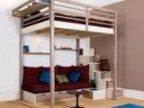 Lit Mezzanine Avec Escalier Impressionnant Lit Superpose Escalier Avec Rangement Luxe Lit Avec Escalier