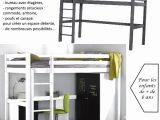 Lit Mezzanine Enfant Douce Lit Mezzanine Bureau Escalier Mezzanine Design Chambre élégant Lit