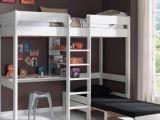 Lit Mezzanine Enfant Douce Lit Mezzanine Fille Nouveau Lit Mezzanine Escamotable Lit Bureau