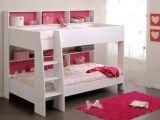 Lit Pour Enfant Fille Frais Lit Superposé Fille Blanc Et Rose Aria Face