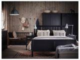 Lit Rond Ikea Fraîche Hemnes Bed Frame Queen Black Brown Ikea