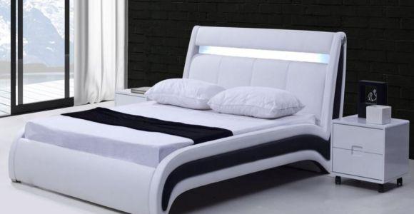Lit Superposé 90×190 Luxe Lit Led Coffre