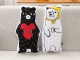 Lit Superposé Pompier Le Luxe Cute Bear Ins 50 25cm Children Kids Bedroom toy Dolls sofa Car Seat