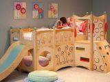 Lit toboggan Enfant Bel Lit Mezzanine toboggan Luxe Chambre Pour Enfant Avec Un Lit