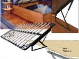 Mecanisme Lit Coffre Bel Woodworker Storage Bed Frame and Lift Kits Queen with Bed