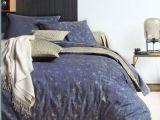 Parure De Lit Bleu Canard Belle Parure De Lit Bleue Taie Percale Bali Blanc Des Vosges Bleu Canard