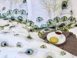 Parure De Lit Bleu Canard Génial Chambre Tropicale L Exotisme  La Maison