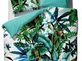Parure De Lit Complete Impressionnant Linge De Lit Impression Motif Tropical