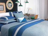 Parure De Lit Geometrique Génial Parure De Lit Bleue Parure De Lit Bleu Housse De Couette Satin Maman