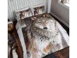 Parure De Lit Loup Inspiré Parure De Lit Loup Good Linge De Lit Avec Immense Tigre Majestueux