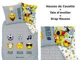 Parure De Lit Maison Du Monde Meilleur De Emoji Emoticons Parure De Lit 3pcs Housse De Couette 140×200
