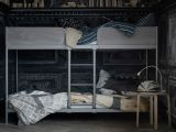Parure De Lit Princesse Impressionnant A Grey Bunk Bed with the Ladder In the Middle that Makes It Easier