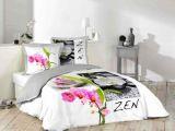 Parure De Lit Violet Nouveau Parrure De Lit Nouveau Parure Lit 2 Places Zen orchidée Galet Pas