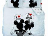 Parure Lit Minnie Nouveau Parure De Lit Mickey Et Minnie Adulte