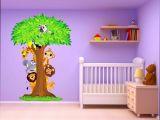 Sommier Lit Bébé Élégant Chambre Bébé Fille Moderne Beau Stickers Muraux Chambre Bébé Bon