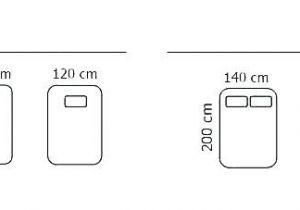 Taille Lit 2 Personnes Génial Dimensions Lit Une Personne Dimension Lit Deux Places Standard Table