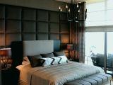 Tete De Lit Deco Charmant Design Créatif Parquet Chambre  Coucher ¢ ¢‹ …¡ Decoration Salle