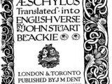 Tour De Lit Liberty Meilleur De the Lyrical Dramas Of Aeschylus Line Library Of Liberty