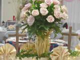 Tour De Lit Rose Pale Luxe Tablescape Fundraiser Tips and the Guest Table Cottage at the